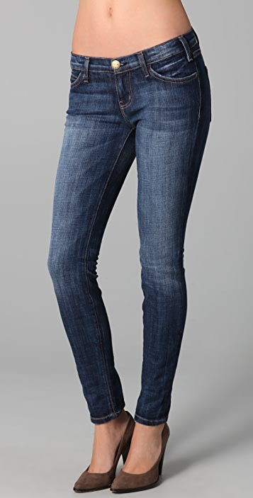 Current/Elliott The Mid Rise Ankle Skinny Jeans