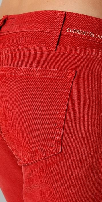 Current/Elliott The Slit Stiletto Jeans