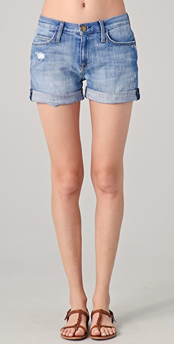 Current/Elliott The Boyfriend Roll Shorts