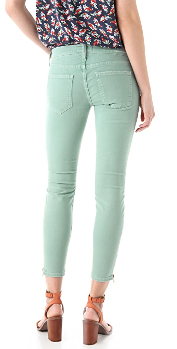 Current/Elliott The Zip Stiletto Jeans