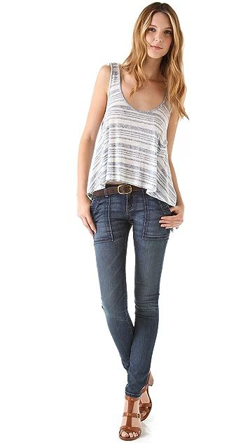 Current/Elliott The Combat Skinny Jeans