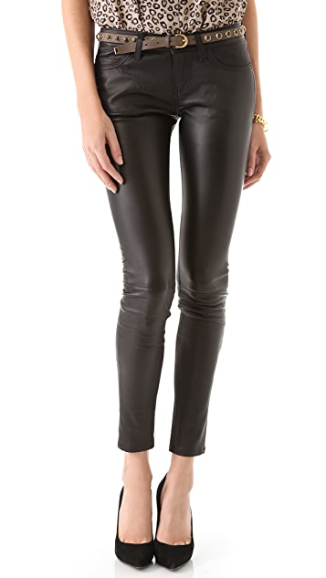 Current/Elliott The Skinny Leather Pants