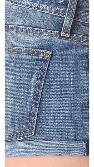 Current/Elliott The Girlfriend Shorts