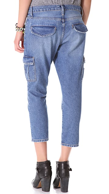 Current/Elliott The Skinny Boy Cargo Jeans