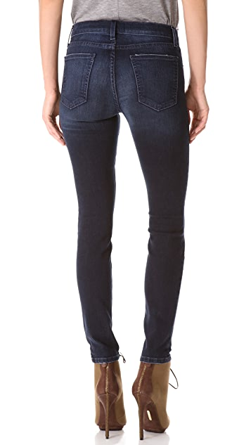 Current/Elliott High Rise Ankle Skinny Jeans