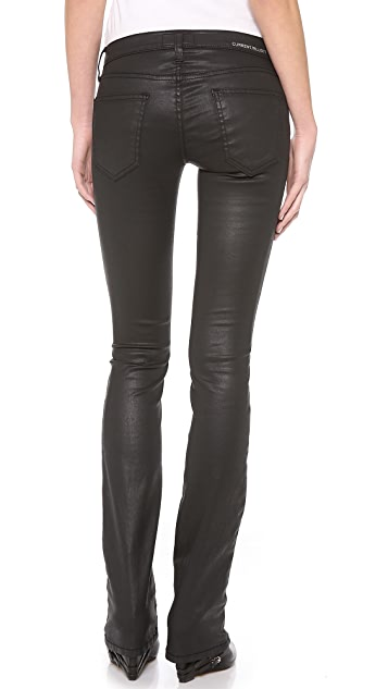 Current/Elliott The Coated Slim Boot Jeans