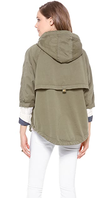 Current/Elliott The Cadet Poncho