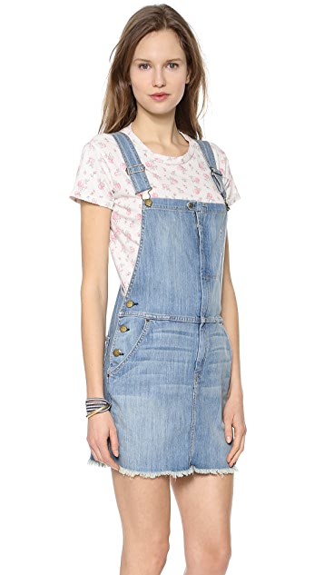 Current/Elliott The Garrison Overall Dress