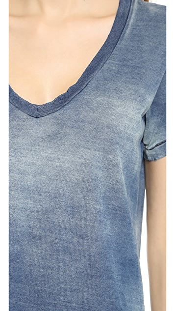 Current/Elliott The V Neck Tee