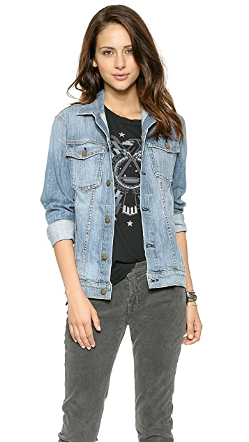 Current/Elliott Oversized Trucker Jacket