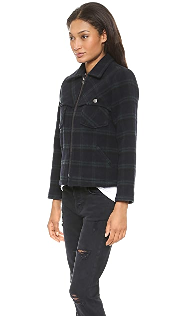 Current/Elliott The Wool Shirt Jacket