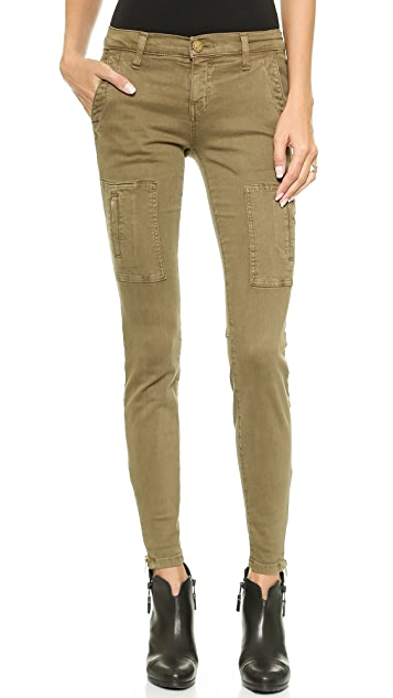 Current/Elliott Flat Pocket Cargo Pants