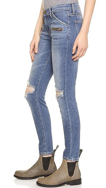 Current/Elliott The Stiletto Biker Jeans