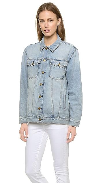 Current/Elliott The Oversized Trucker Jacket