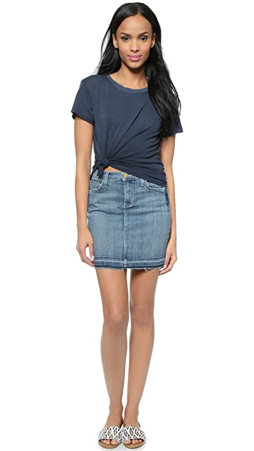 Current/Elliott The Skinny Miniskirt