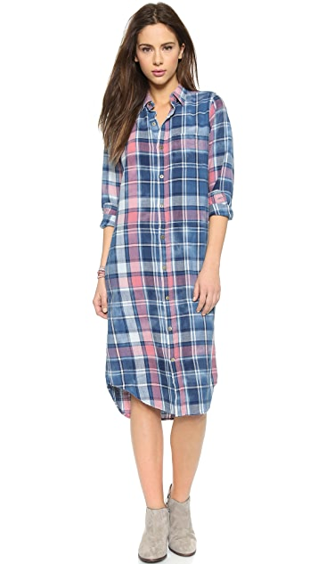 Current/Elliott Long Shirtdress