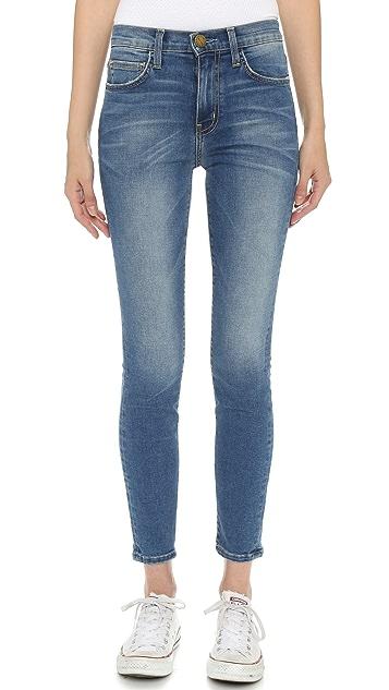 Current/Elliott The Super High Waist Stiletto Jeans