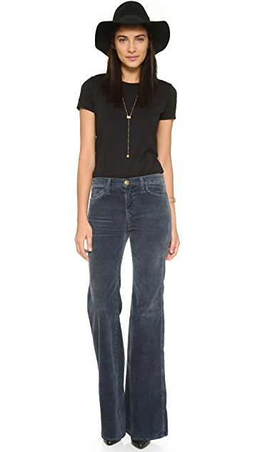 Current/Elliott The Girl Crush Flare Pants