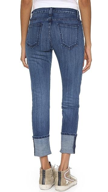 Current/Elliott The Cuffed Skinny Jeans