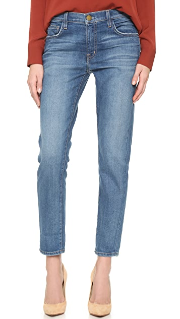 Current/Elliott The Principle Mid Rise Boyfriend Jeans