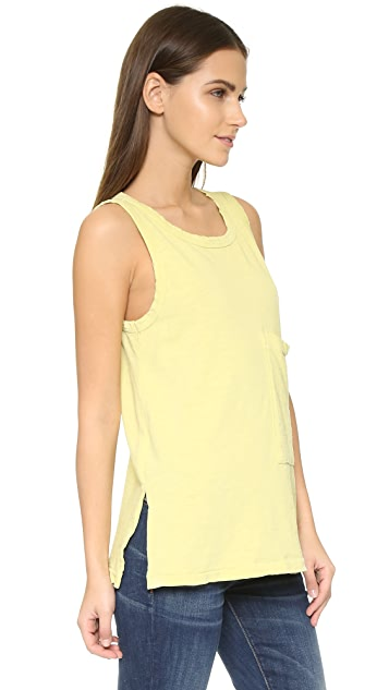 Current/Elliott The Pocket Muscle Tee