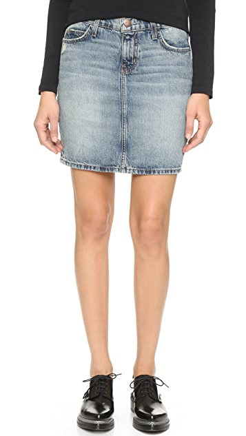 Current/Elliott Skinny Miniskirt