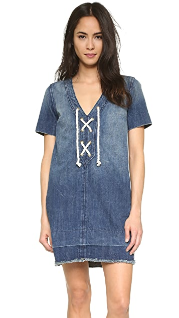 Current/Elliott The All Laced Up Dress