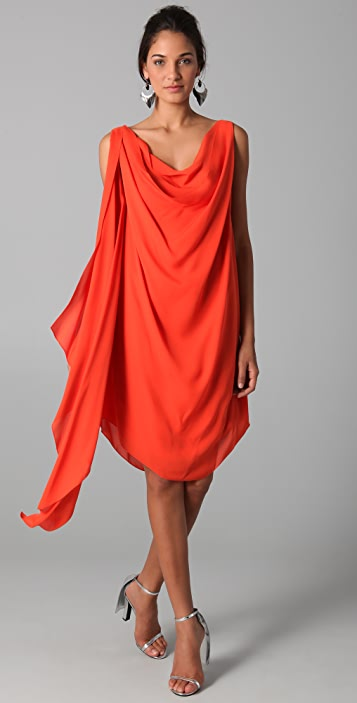Cushnie Et Ochs Wrap Dress