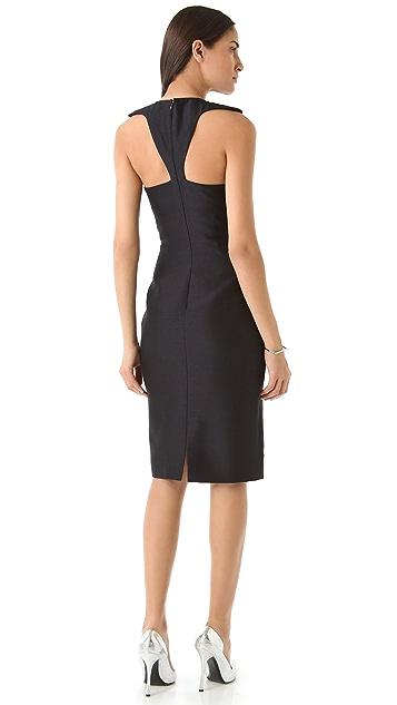Cushnie Et Ochs Collarbone Dress