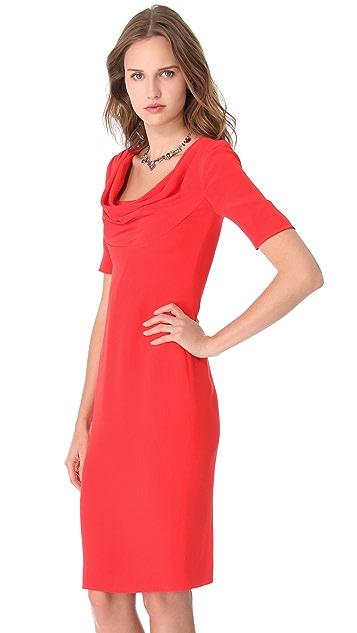 Cushnie Et Ochs Cowl Neck Dress