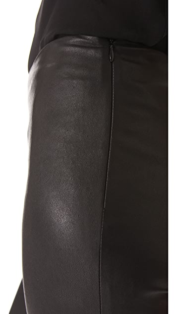 Cushnie Et Ochs Leather Leggings