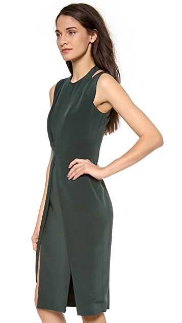 Cushnie Et Ochs Sleeveless Crepe Dress