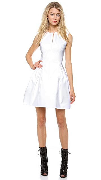 Cushnie Et Ochs Stretch Cotton Dress