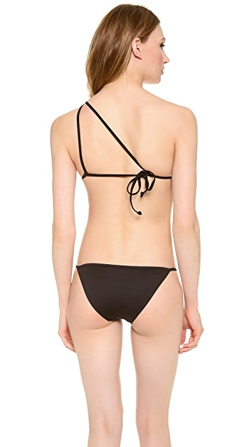 Cushnie Et Ochs One Shoulder Bikini