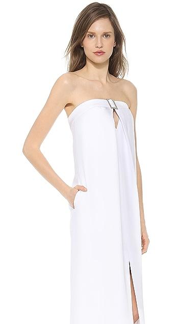 Cushnie Et Ochs Strapless Gown