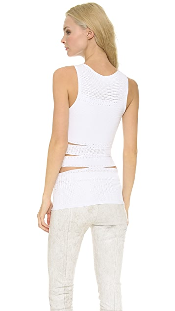 Cushnie Et Ochs Knit Sleeveless Top