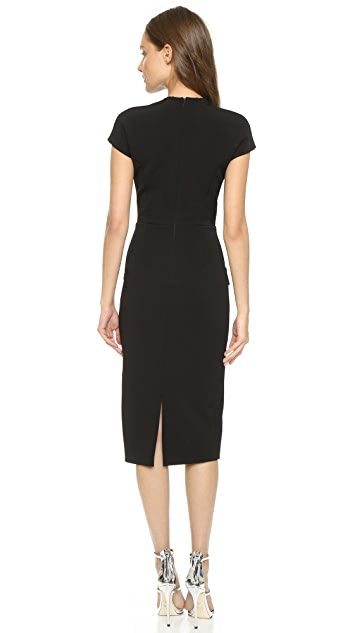 Cushnie Flap Edge Dress