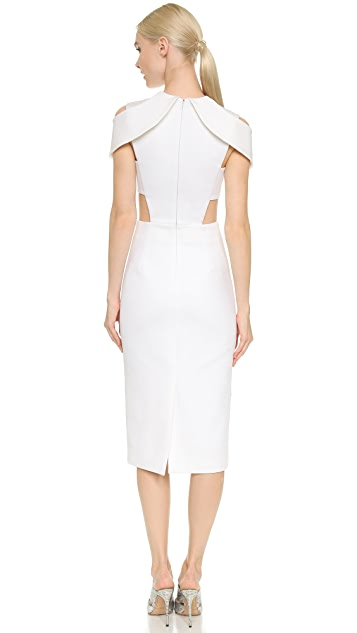Cushnie Et Ochs Short Sleeve Dress