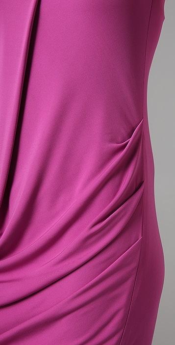 Cut25 by Yigal Azrouel Strapless Draped Dress
