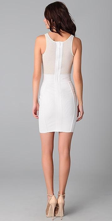 Cut25 by Yigal Azrouel Sleeveless Seam Detail Dress