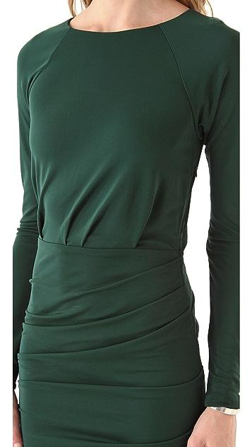 Cut25 by Yigal Azrouel Matte Jersey Ruched Dress