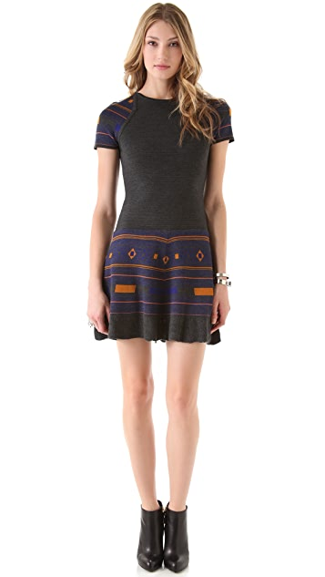 Cut25 by Yigal Azrouel Power Knit Dress