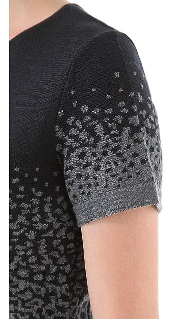 Cut25 by Yigal Azrouel Degrade Knit Dress