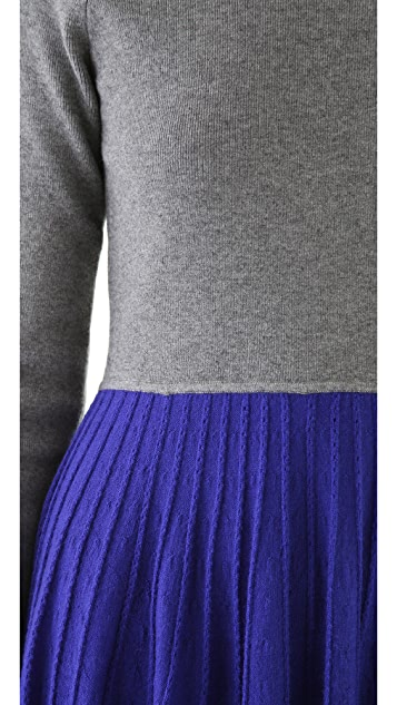 Cut25 by Yigal Azrouel Sweater Jersey Combo Dress