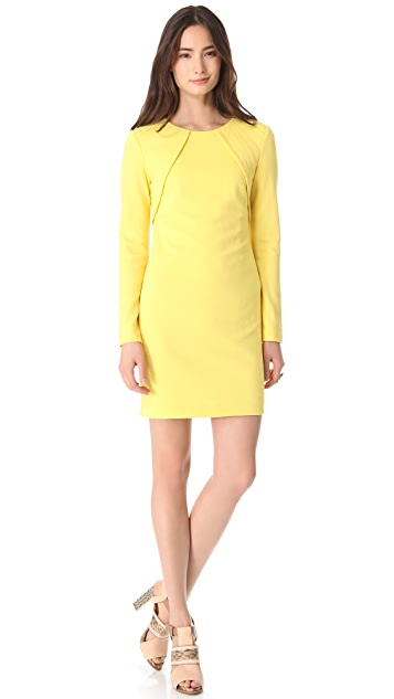Cut25 by Yigal Azrouel Micro Checker Knit Dress