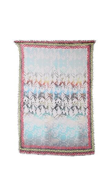 Cut25 by Yigal Azrouel Tie Dye Scarf