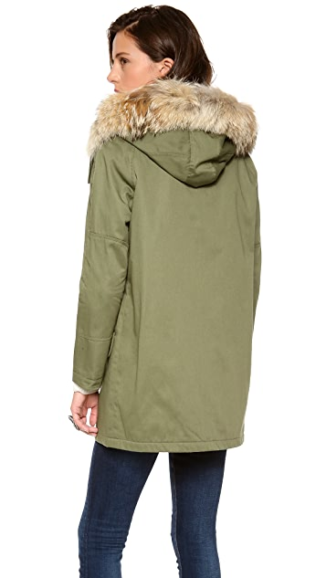 Cut25 by Yigal Azrouel Hooded Parka