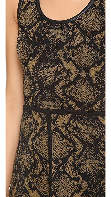 Cut25 by Yigal Azrouel Snake Sweater Dress