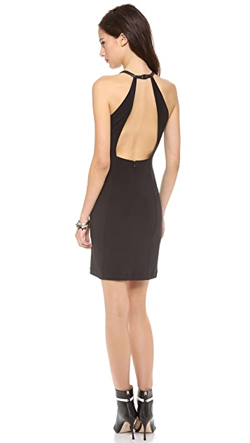 Cut25 by Yigal Azrouel Halter Matte Jersey Dress