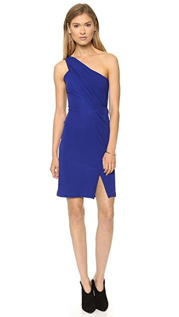 Cut25 by Yigal Azrouel One Shoulder Matte Jersey Dress